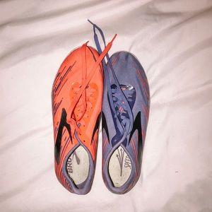 One Pair of Used Brooks Spikes